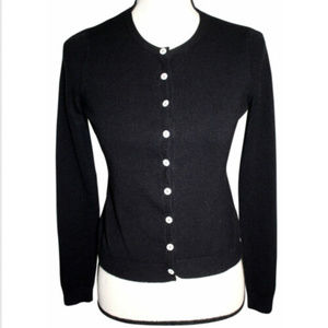 Vintage New York & Co Womens XS Black Cardigan